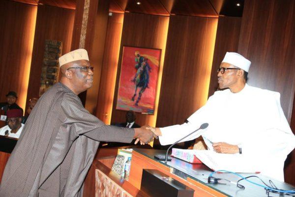 President Buhari swears in Special Advisers4