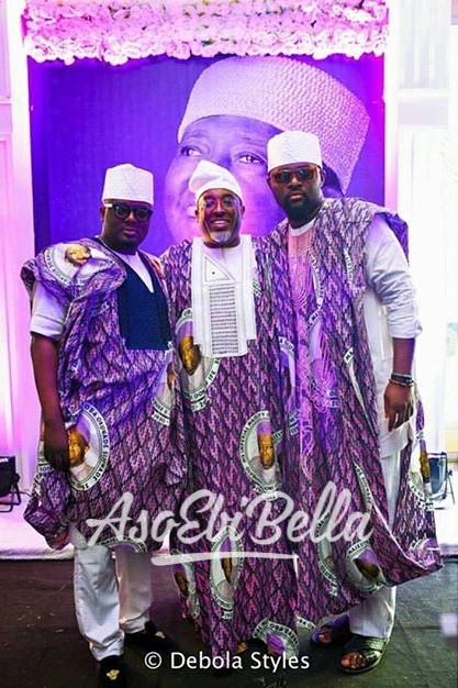 Princes at their father Oba Sijuwade's memorial Events @rubyfayevents