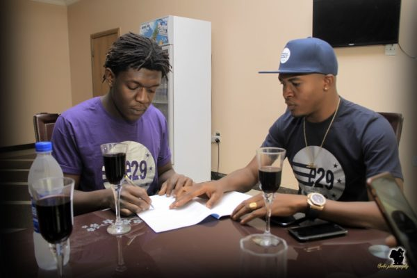 Quincy Signing with E29 Records