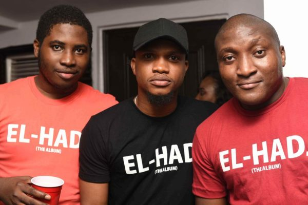 Tosin Adeda, Uche Briggs and Edward Israel-Ayide