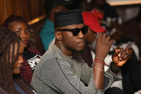 Reminisce aka Alaga Ibile had an Exclusive Listening Session