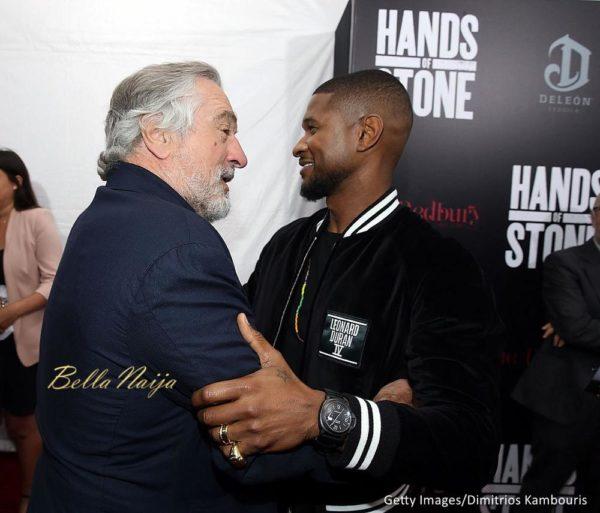 Robert De Niro & Usher