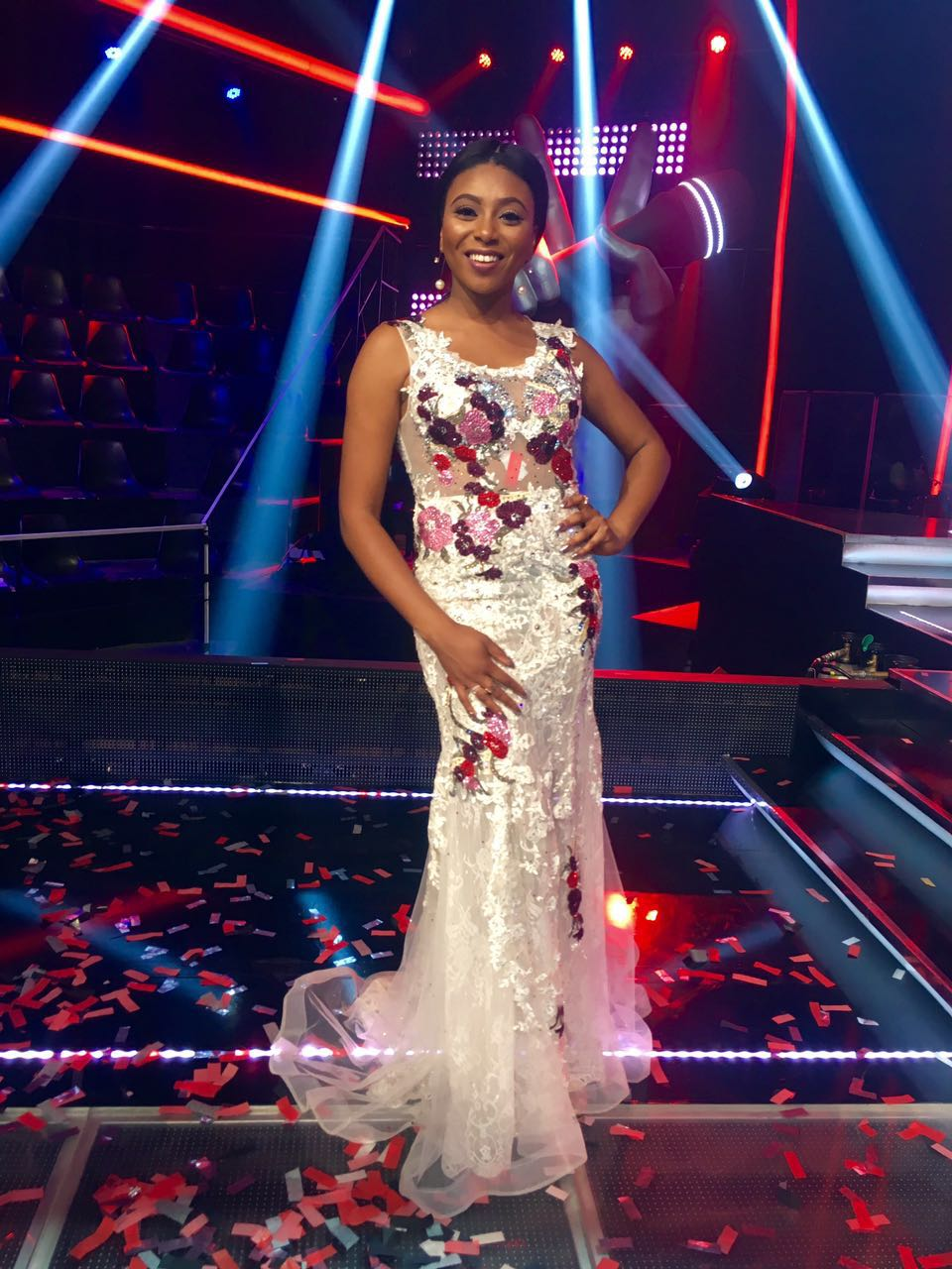 Stephanie Coker the voice nigeria New 2