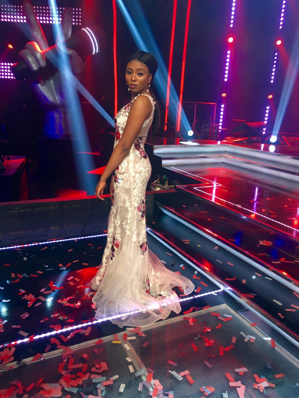 Stephanie Coker the voice nigeria New 3
