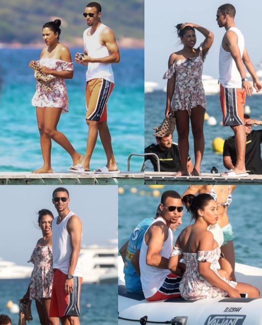 17b547279ce1 Stephen and Ayesha Curry Celebrate 5 Blissful Years of Marriage with a   Baecation in St. Tropez