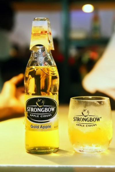 Strongbow apple gold