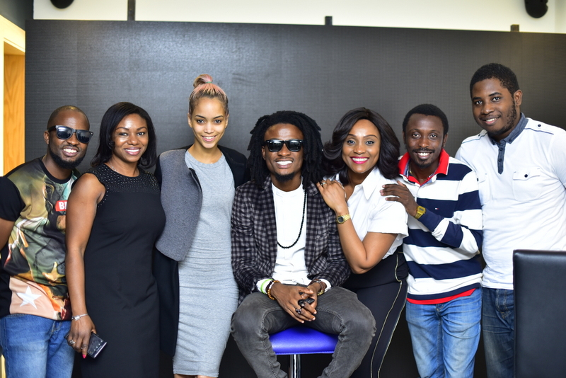 The Viacom Team, Tola Adekoya, Kemi Rotzler, Samantha, Ehiz, Ifeoma, Akin and Tosin Adeda