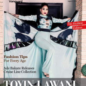 Toyin Lawani is Entrepreneur Extraordinaire on the cover of Vanguard Allure's Fashion Edition