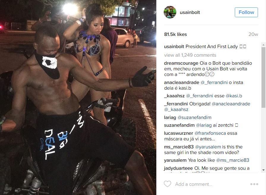 Usain Bolt Kasi Bennett