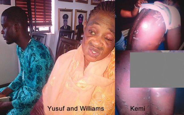Waliu Yusuf, Fatima Williams and Kemi