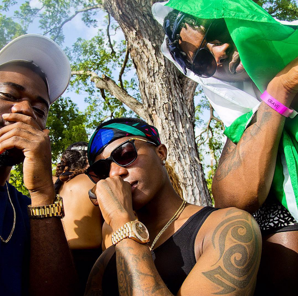 Wizkid and Runtown in Barbados for Crop Over Festival 2016_3