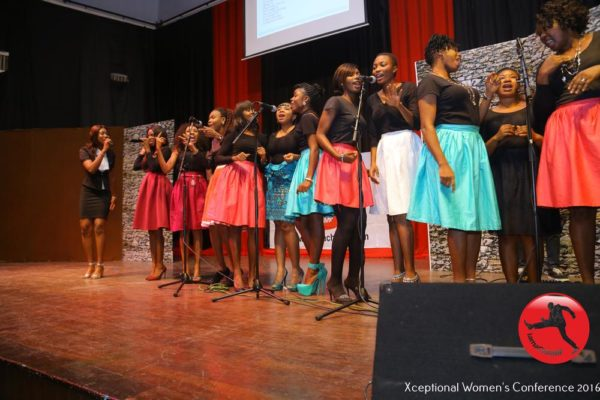 Xceptional Women's Chorale performing @ The Xceptional Women's Conference