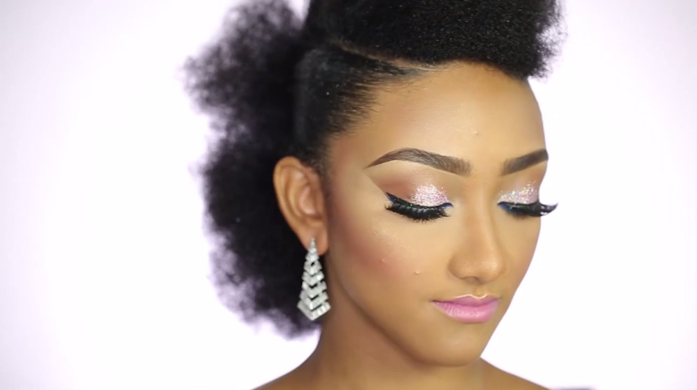 BN Bridal Beauty: Pink Glitter Bridesmaid Inspired Makeup ...