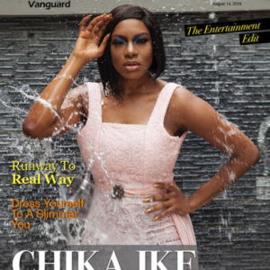 Actress Chika Ike is on the Cover of Vanguard Allure's Latest Issue