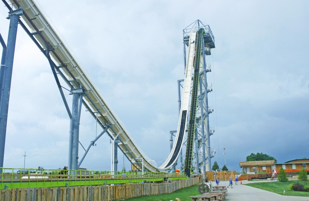 The Verruckt waterslide
