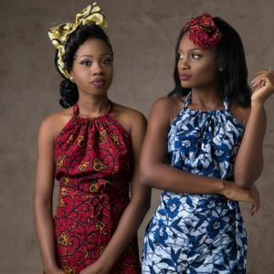 Catch the Ankara Fever! Kenny Adelaja presents this Ankara inspired Beauty shoot with Heaven Essence Beauty