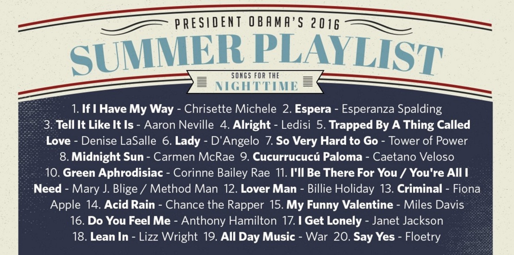 obama summer 2016 playlist bellanaijaScreen Shot 2016-08-12 at 14.00.1682016_