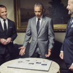 In the Roosevelt Room of the White House, President Barack Obama discusses plans for the issue he is guest editing with WIRED's Editor-in-Chief Scott Dadich and Editorial Director Robert Capps. CHRISTOPHER ANDERSON/MAGNUM PHOTOS