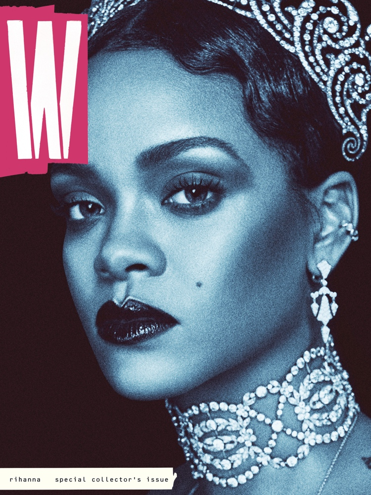 rihanna w magazine bellanaija0916_W_Rihanna_cover82016_