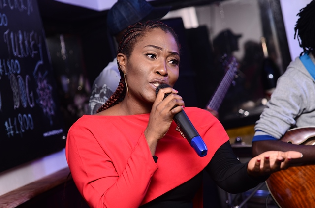 sincere and passionate in song at ONE NITE LIVE & UNPLUGGED with RUBY GYANG