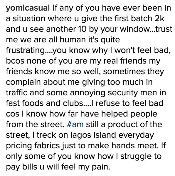 yomi casual street beggars