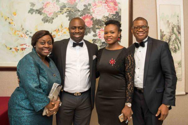 Dr. & Mrs. Akinbobola with Pastor & Pastor (Mrs.) Ados Momoh of The Secret Place, RCCG Magodo