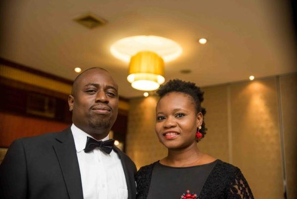 ) Dr. Oluwaseun Akinbobola (CEO, Beaconhill Smile Clinic) and his lovely wife, Ibitayo Akinbobola