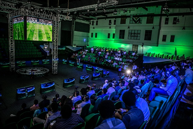 Audience at the Heineken's UCL Launch Event