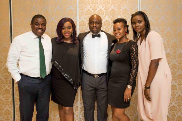 Mr. & Mrs. Siji Akinbobola, Dr. & Mrs. Oluwaseun Akinbobola and Joy Adesanya (CEO, Sshhh Lingerie Boutique, Lekki)