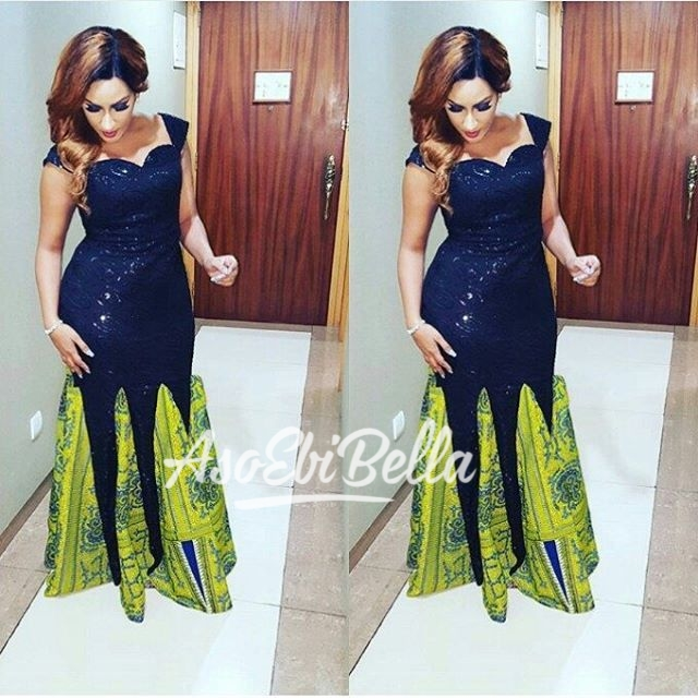 @julietibrahim Dress by @beth__sante Glam squad @sutchay @davesucre Styling @Swankyjerry