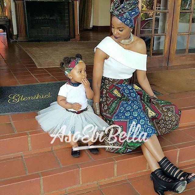 @nonhlendala & her lil princess