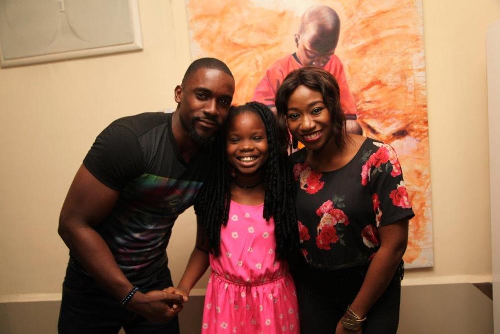 Mawuli Gavor and Oye Laoye with a Hushian