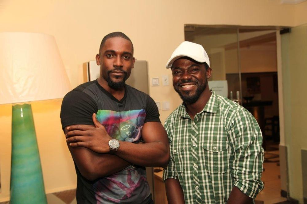 Rivals on screen, Friends in real Life - Mawuli and Kunle Fawole