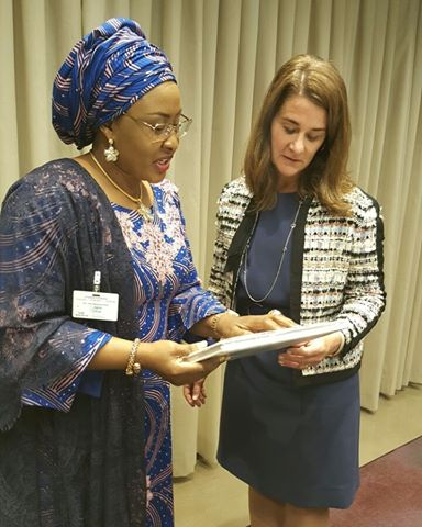 Aisha Buhari and Melinda Gates