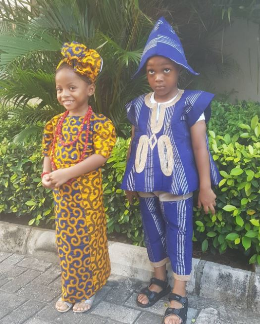 Aliona and Andre Okoye