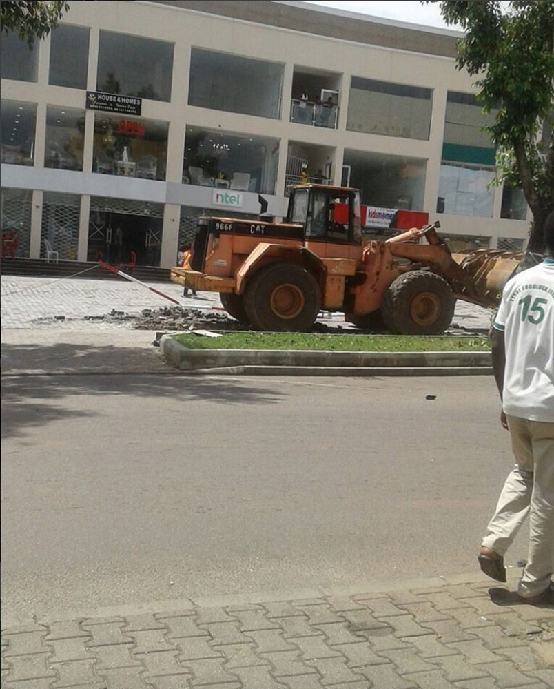 Banex Express Abuja_demolish 2