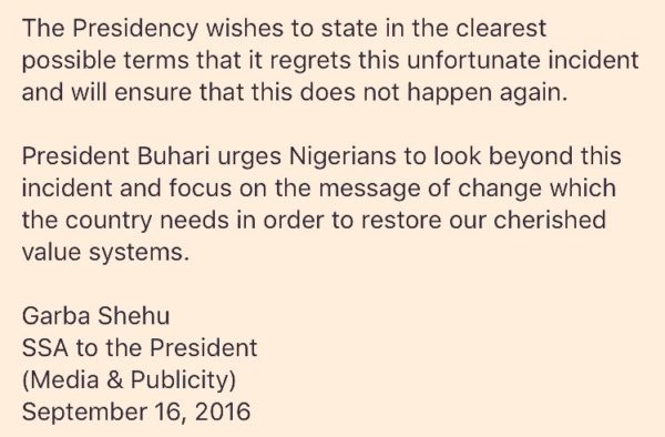 Buhari Obama Speech 2