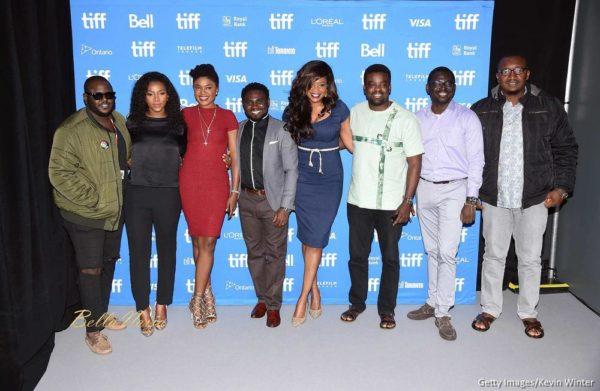 Director Abba Makama, actresses Genevieve Nnaji, Omoni Oboli, producer/director Uduak-Obong Patrick, director Kemi Adetiba, actor Kunle Afolayan, directors Niyi Akinmolayan and Izu Ojukwu