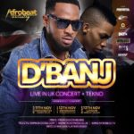 D'Banj UK Tour Flyer