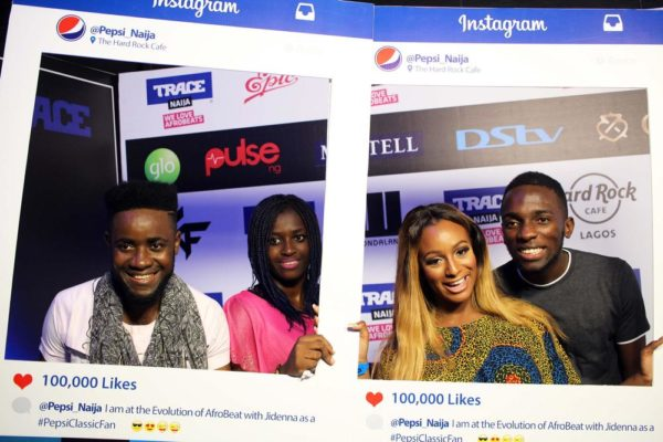 DJ Cuppy and Classic fans
