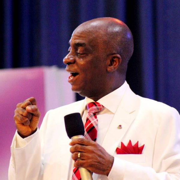 """You better control your jealousy"" - Bishop Oyedepo to Persons attacking Churches for Owning Private Jets 
