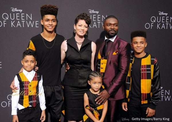 David Oyelowo & his Family are Picture Perfect in Matching ...