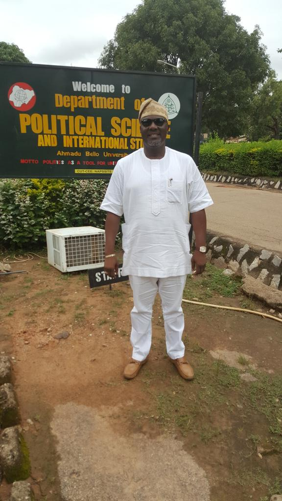Dino Melaye Back to School