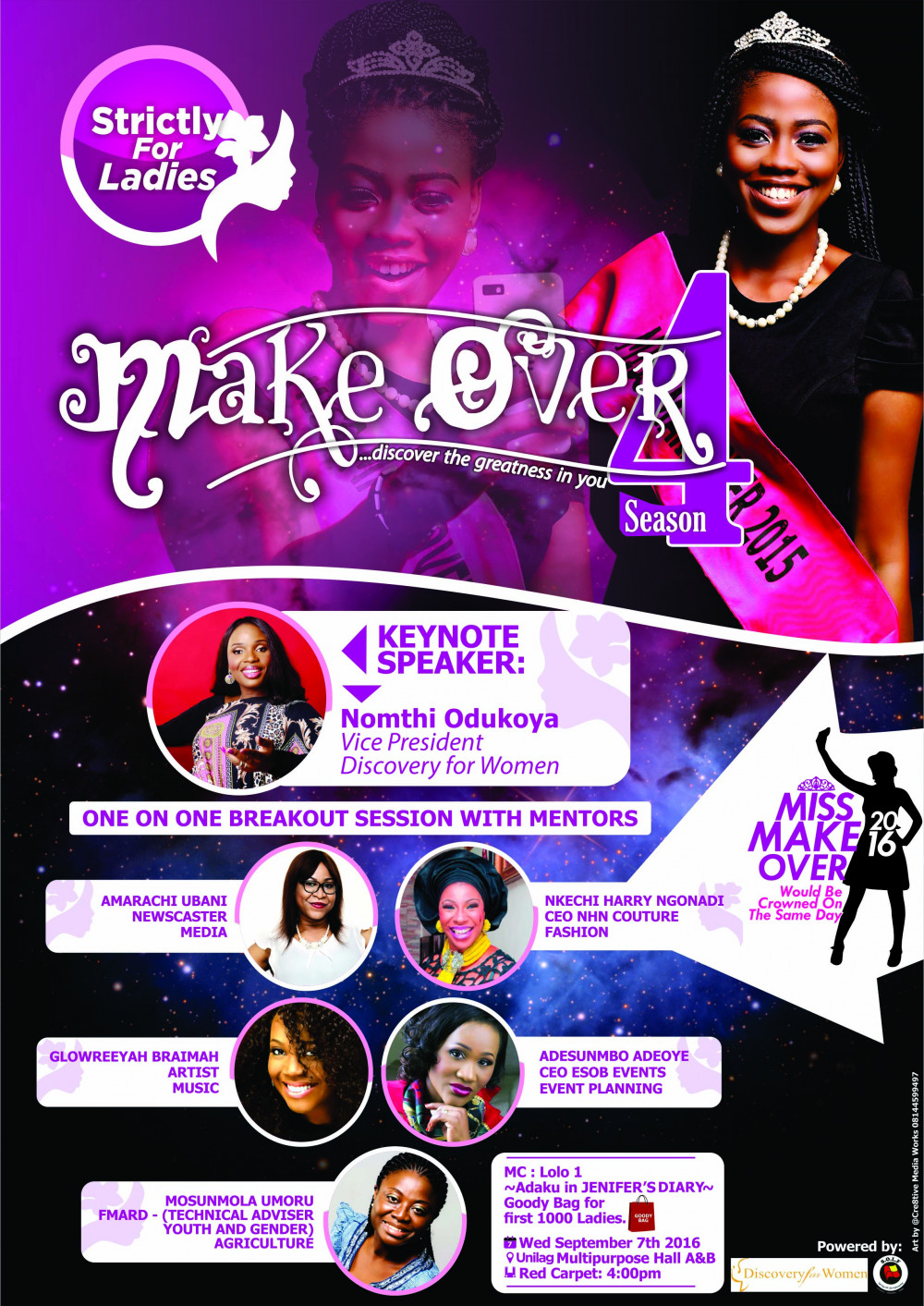 Discovery for Women Makeover