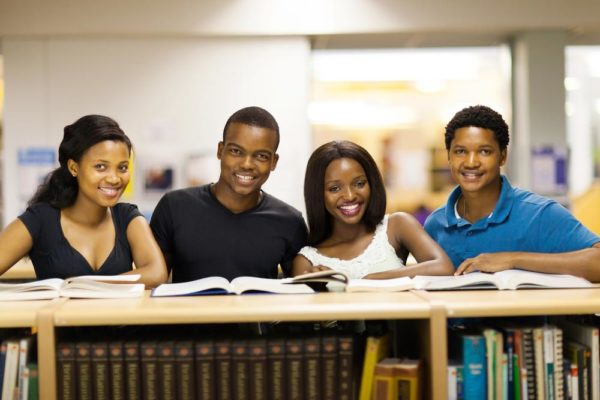Dreamstime-African Students Library