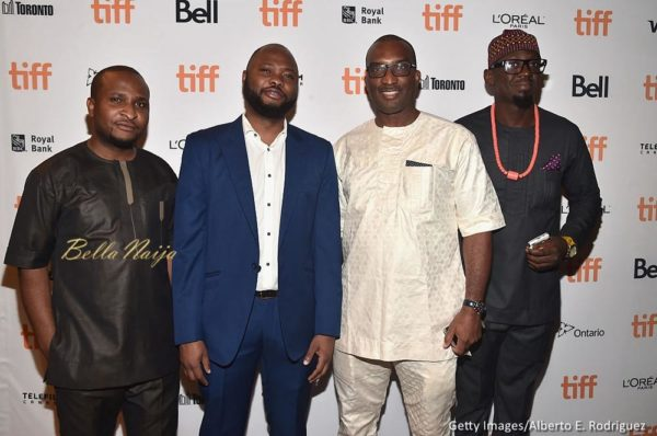 Producers Moses Babatope, Chinaza Onuzo, Kene Mkparu and Don Omope