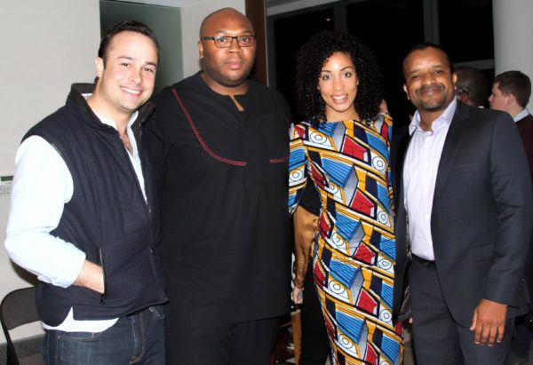 Jason Njoku of iROKOWorld & Maya Horgan-Famodu of Ingressive in the middle