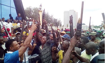 Imo Militants Surrender Arms2