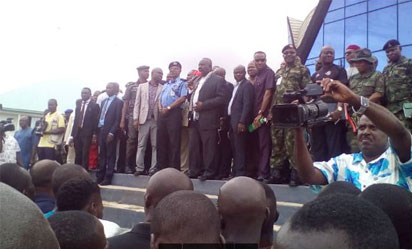 Imo Militants Surrender Arms4