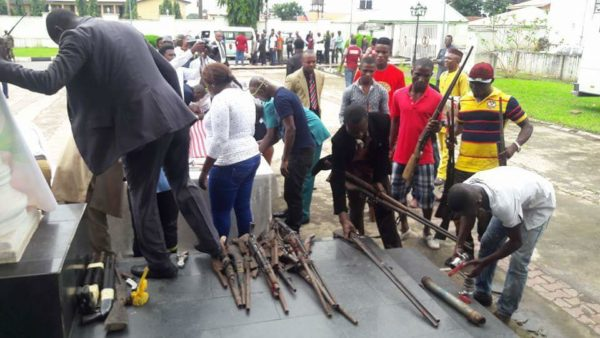 Imo Militants Surrender Arms5